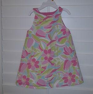 Gymboree girls Reversible open back  Dress 3T